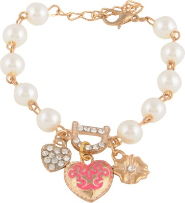 Flaunt Luxury Alloy Charm Bracelet