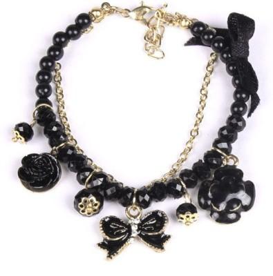 French Aura Alloy, Acrylic Bracelet