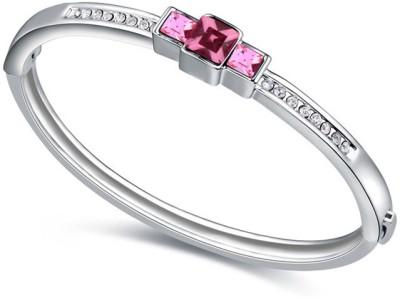 Kyra Alloy Crystal Rhodium Bracelet