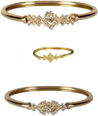 Rashi Jewellery Brass Rhodium Kada