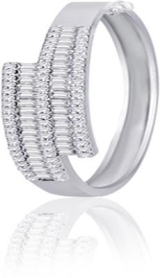 Peora Alloy Rhodium Bracelet