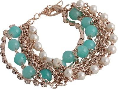 Crunchy Fashion Alloy Charm Bracelet