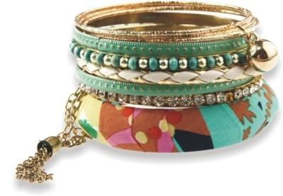Milady Avenue Alloy Brass Bracelet Set