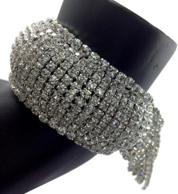Shiv Kutumb Metal Zircon Bracelet