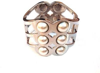 Grace Fashion Villa Alloy Platinum Cuff