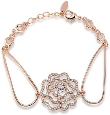 GalexiaR Alloy 18K Rose Gold Bracelet