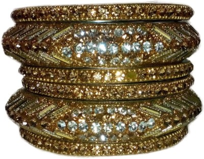 B R TRADING Metal Bangle Set