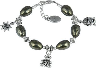 Pearlz Ocean Alloy Charm Bracelet