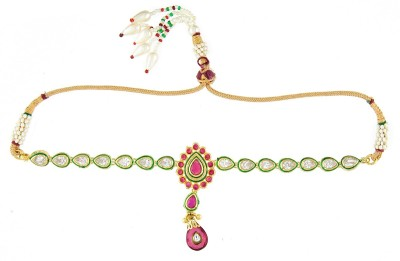 Kushals Fashion Jewellery Copper, Alloy Yellow Gold Armlet