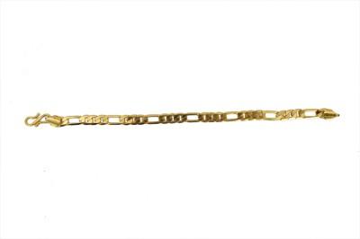 Ankur Brass Yellow Gold Bracelet