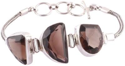 Kirti Gems Sterling Silver Quartz Bracelet