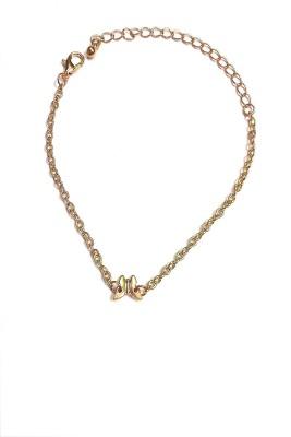 Indian Swan Metal Bracelet