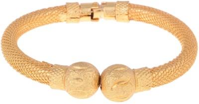 Vama Alloy, Brass 24K Yellow Gold Kada