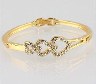 Glitz Alloy 18K Yellow Gold Bracelet