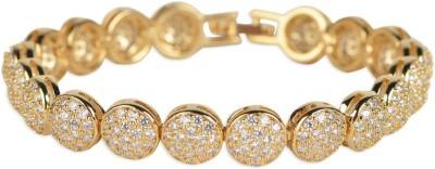 BGS Alloy Crystal Bracelet
