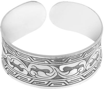 Jewelizer Alloy Silver Cuff