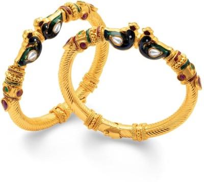 Sukkhi Copper Yellow Gold Kada