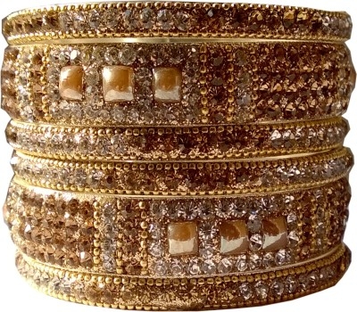 Mann Retails Brass Zircon Bangle Set