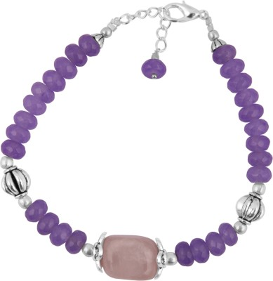 Pearlz Ocean Alloy Jade, Quartz Bracelet