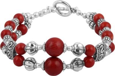 Pearlz Ocean Alloy Coral Bracelet