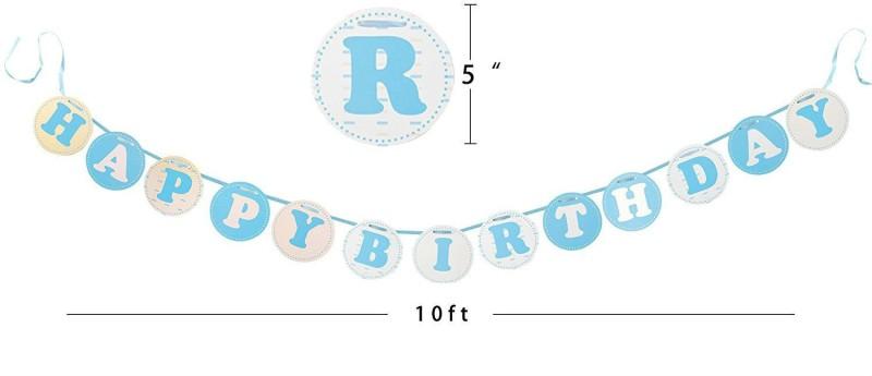 GrandShop Happy Birthday Decoration Banner(10 ft, Pack of 1)