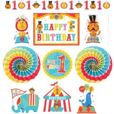 Amscan Fisher Price Birthday Circus Room Decorating Kit Banner
