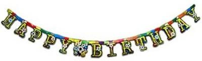 MyBirthdaySupplies 8600312 Banner(23.3 ft, Pack of 1)