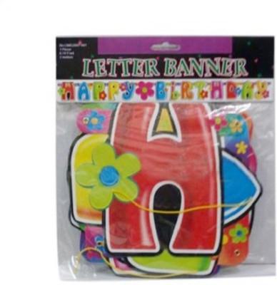 partyballoonsHK Birthday Banner(5 ft, Pack of 1)