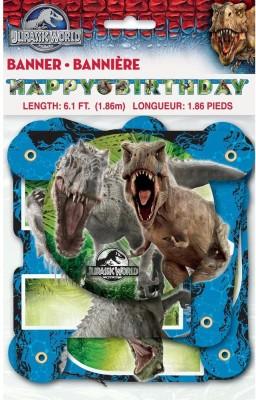 Unique Jurassic World Birthday Banner Banner
