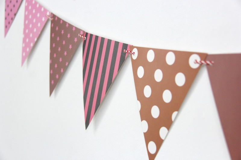 GrandShop Party Decoration and Celebrations Pennant Flag(10 ft, Pack of 12)