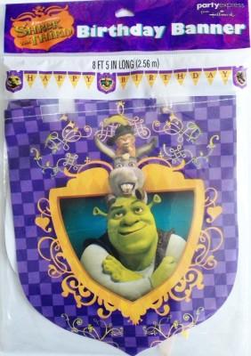 Hallmark Shrek Party Happy Birthday Banner Banner