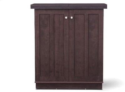 Ringabell Barley Solid Wood Bar Cabinet(Finish Color - Mahogany)