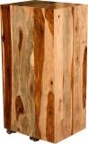 Handiana Solid Wood Bar Cabinet (Finish ...