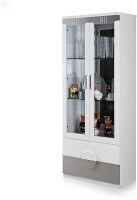 Royal Oak Aster Engineered Wood Bar Cabinet(Finish Color - White)