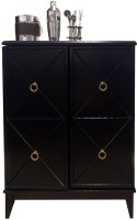 Shop Sting Solid Wood Bar Cabinet(Finish Color - Walnut)