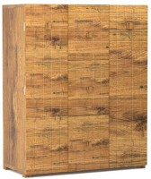 Tezerac Solid Wood Bar Cabinet(Finish Color - Natural)