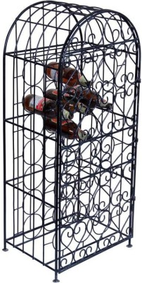 The Attic Metal Bar Cabinet(Finish Color - Black)