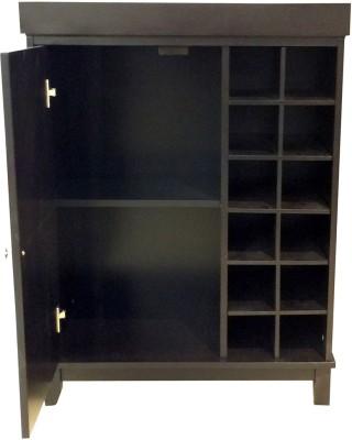 HomeTown Avlon Solid Wood Bar Cabinet