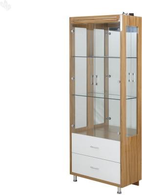 Royal Oak Olive Engineered Wood Bar Cabinet(Finish Color - White)