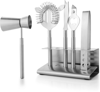 Mosaic 6 - Piece Bar Set(Stainless Steel)