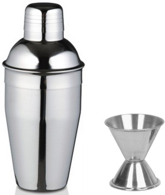 Dynore (Medium) - Delux cocktail shaker and peg measure 2 - Piece Bar Set