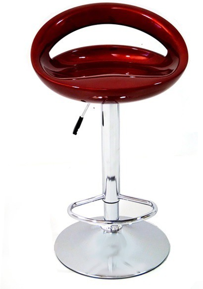 View Arena Synthetic Fiber Bar Stool(Finish Color - Wine Red) Furniture (Arena)