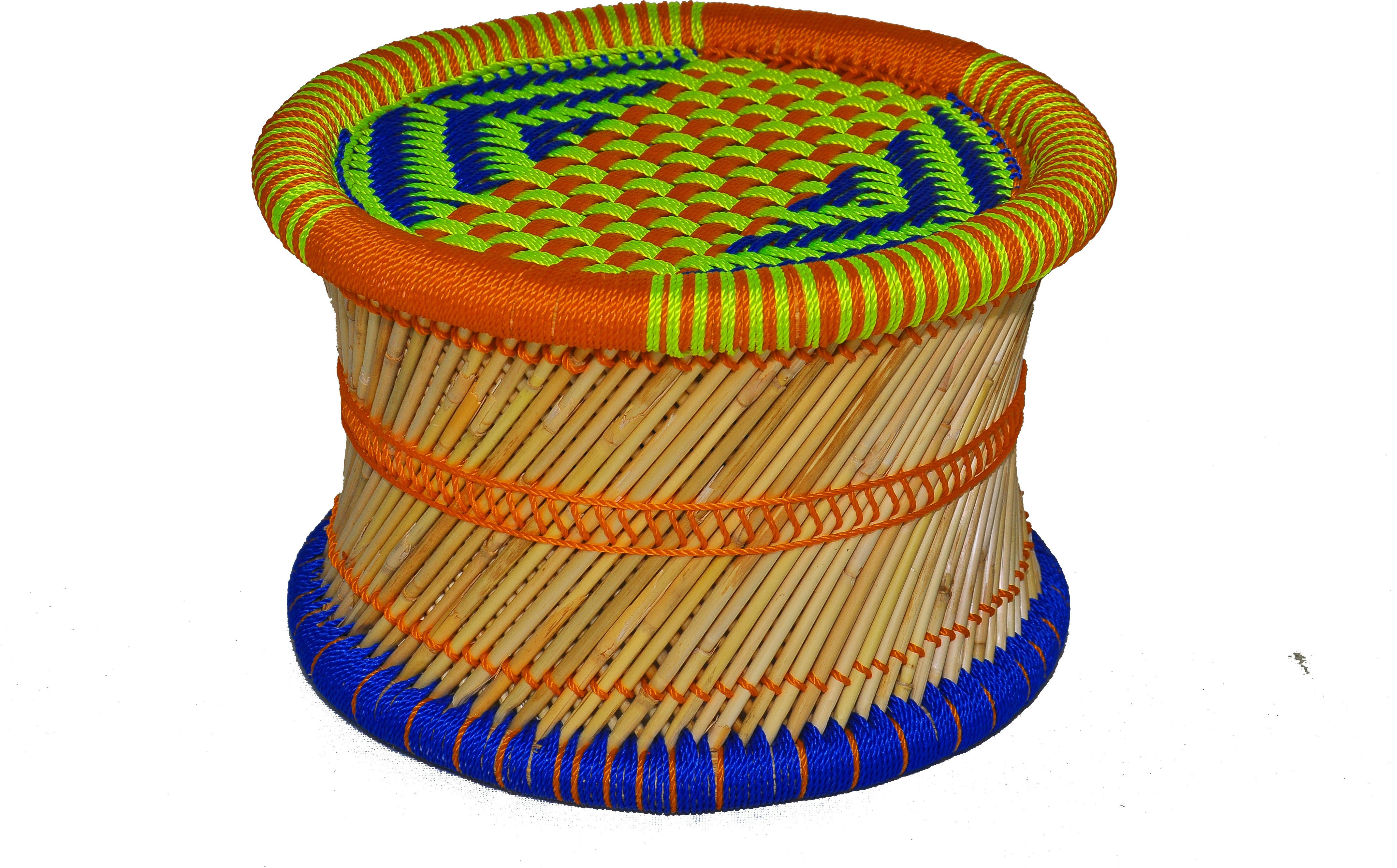 View Skill India Cane Bar Stool(Finish Color - NA) Furniture (Skill India)