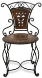 Acme Production Solid Wood Bar Chair (Fi...