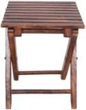 Desi Karigar Solid Wood Bar Stool (Finis...