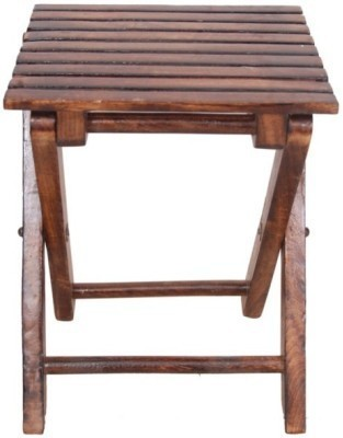 Desi Karigar Solid Wood Bar Stool