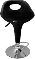 Arena Synthetic Fiber Bar Stool(Finish Color - Black)