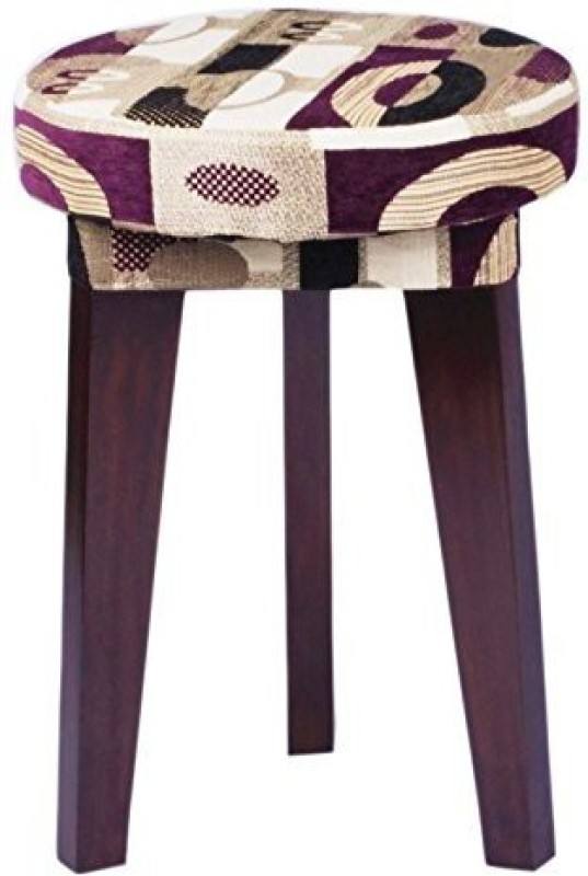 Mubell Tecido Solid Wood Bar Stool(Finish Color - Walnut Brown)