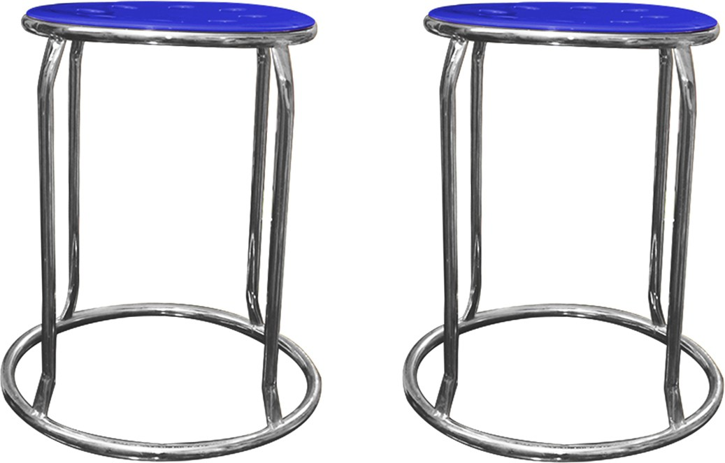 View AdevWorld Metal Bar Stool(Finish Color - Aluminum Finishes) Furniture (AdevWorld)