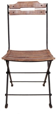 Onlineshoppee Solid Wood Bar Chair